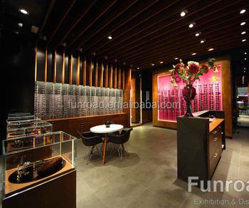 Di lusso nomi negozio display ottico mobili in legno con for Nomi di mobili
