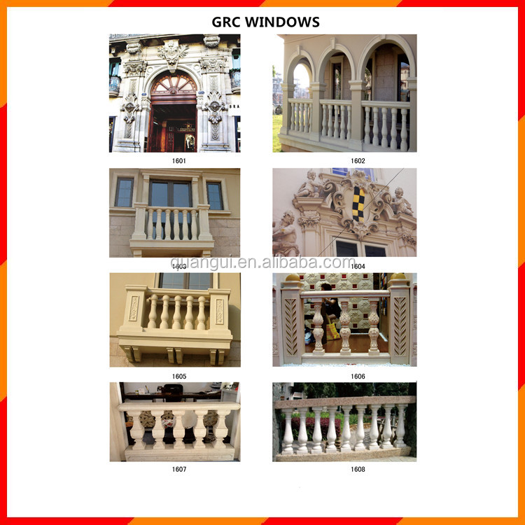 Natural stone hot sell corinthian windows for USA