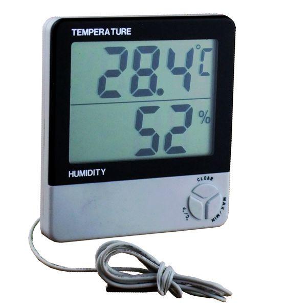 Large Display Room Temperature Humidity Measuring Digital Lcd Termometro Higrometro