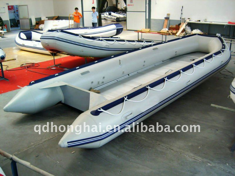 big CE 6m rowing speed inflatable boats assault yacht factory