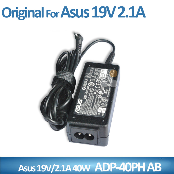 Shenzhen Exported Original AC Adapter ADP-40PH AB 19V 2.1A AC Power Adapter for ASUS EEE PC Mini Laptop Charger