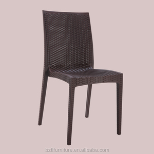 Cheap Plastic Rattan Chair PP Wholesale Garden Modern Plastic Chairs