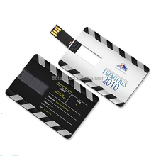 Lowest price Credit Card Shape USB Memory Stick, popular Business Gift Credit Card USB