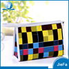 Promotional canvas custom cosmetic portable makeup toilet bag
