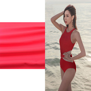 wholesale Bright Colored 80% Nylon 20% Spandex Underwear Fabric For Swimwear