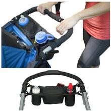 Baby Stroller Organizer Cooler and Thermal Bags for Mummy Hanging Carriage Pram Buggy Cart Bottle Bags