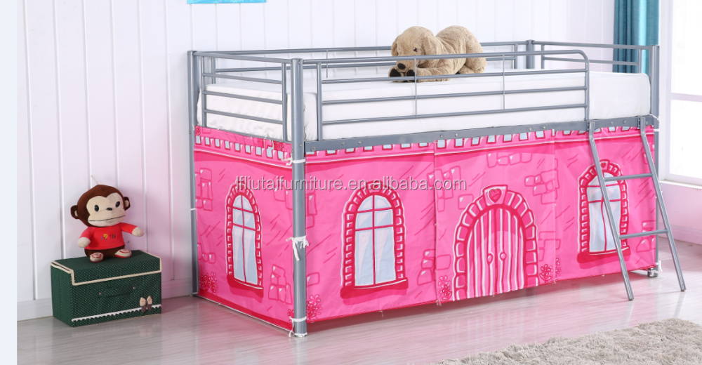 bestseller 936t 01 kinderbett pink prinzessin kutsche bett bestanden sgs m dchen bett metalbett. Black Bedroom Furniture Sets. Home Design Ideas