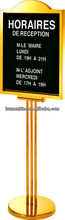 menu sign stand (advertising sign post)