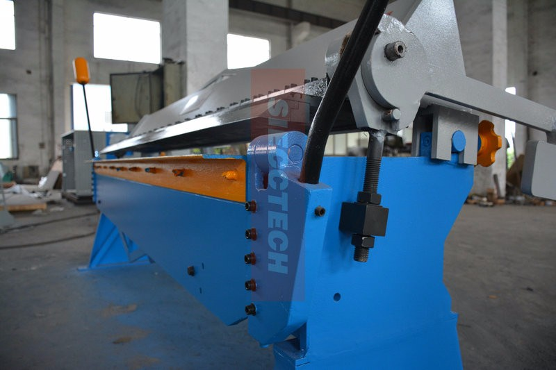 Manuale foglio pieghevole in metallo manuale della macchina flangia bender piegatura della macchina/a mano macchina di piegatura
