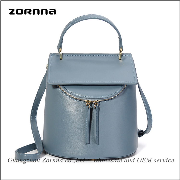 Winter new style women leather purse german cute lady backpack