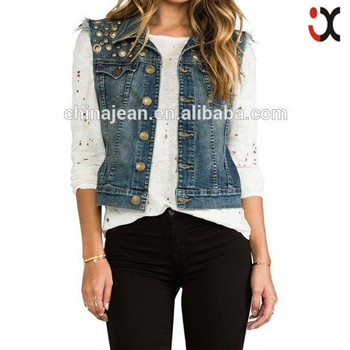 fd855bc3ccf1 2015 lady sexy denim jean jacket woman clothing factories in china JXW1503