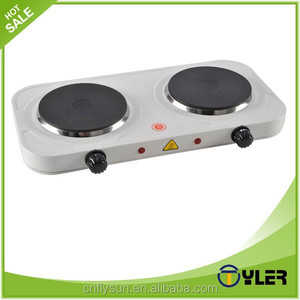home appliance 2 burner electric hot plate cooker