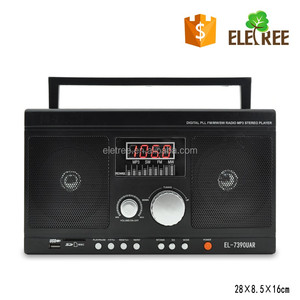 FM/AM/SW 3 brand protable radio MT-7390UAR hot sell radio with mp3 /usb/sd/tf card player