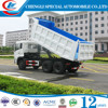 China made DONGFENG 25ton 6x4 rear loader truck for sale