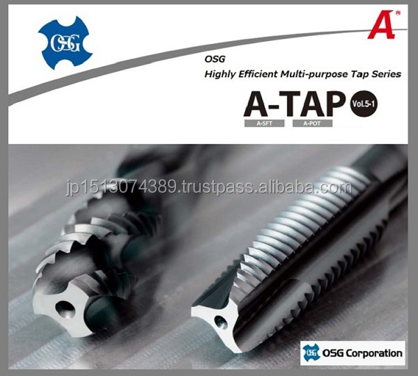 Highly efficient threading taps and dies manufactured by OSG