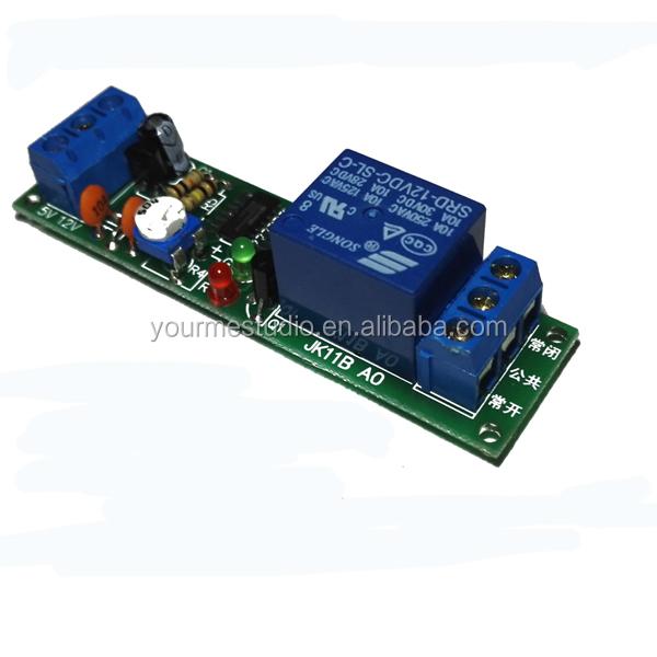 Trigger Delay Circuit    Adjustable Time Delay Relay Module