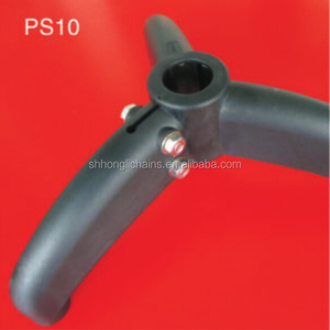 PS10 Tripod support base for round tubes plastic NYLON conveyor feet