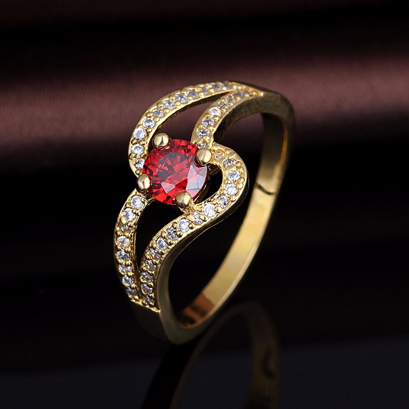 2017 Latest Simple Gold Ring Designs For Girls - Buy Gold Ring ...