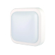 V102508 ip44 plastic body useful wall mount waterproof square marine lighting bulkhead led light fitting