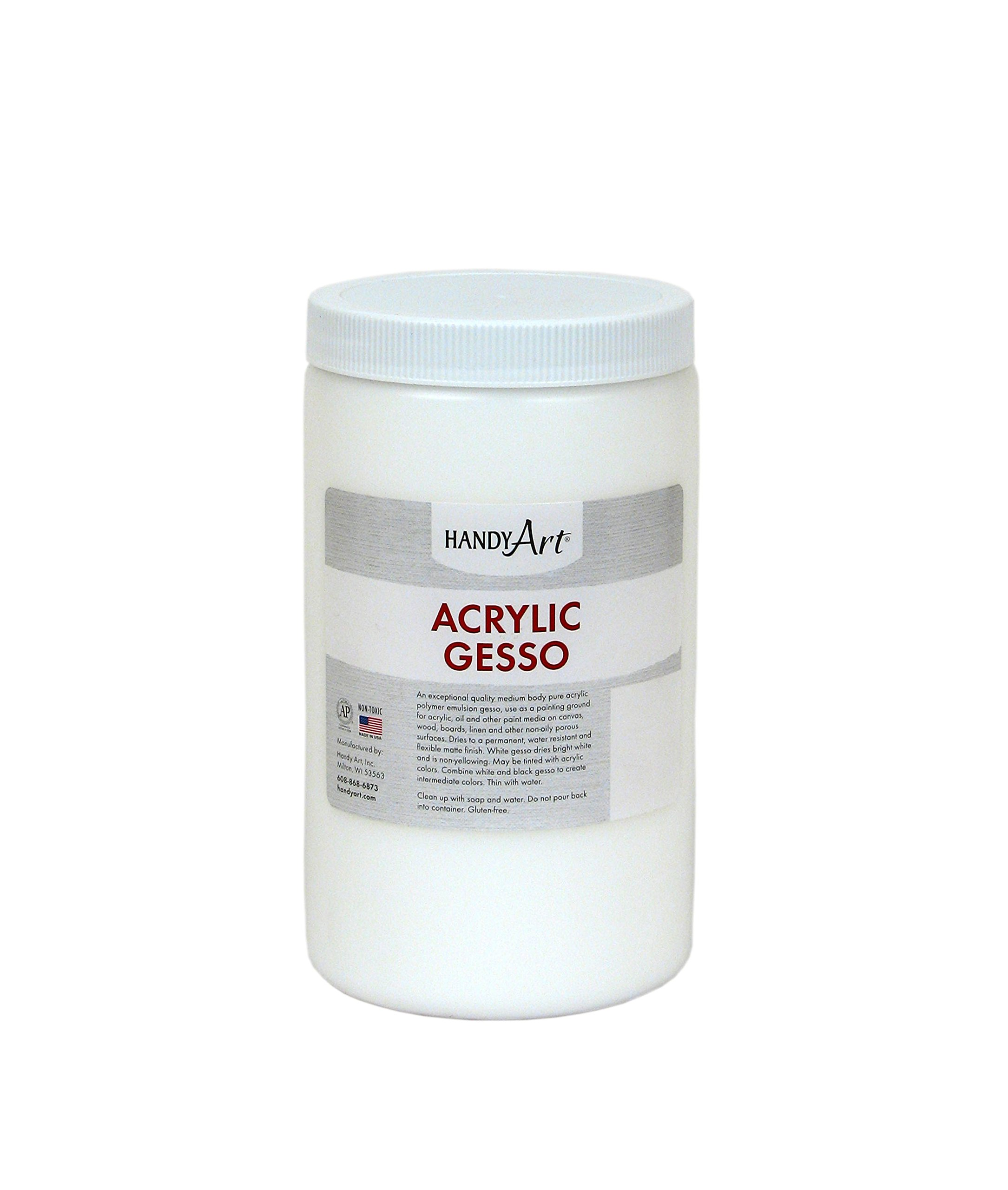 Handy Art Student Acrylic 32 ounce, White Gesso