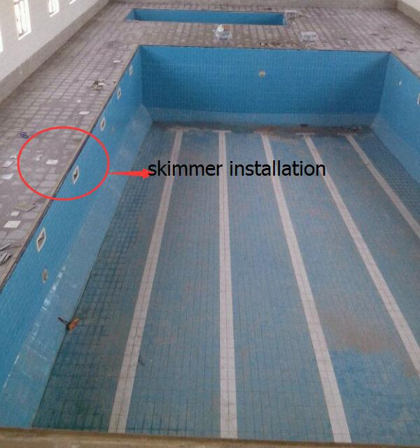 Swimming pool accessories skimmer for concrete pool and liner pool buy swimming pool skimmer for Inground swimming pool skimmer installation