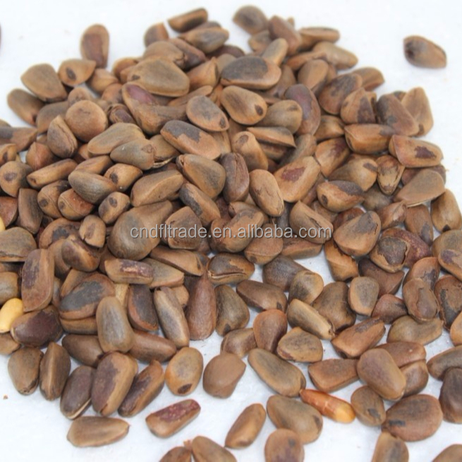 Blanched Processing wild pine nuts