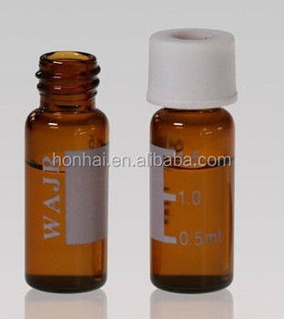 Tubular glass vial with screw mouth 2ml, 5ml, 10ml,20ml.