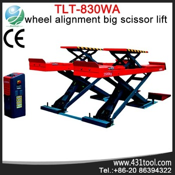 Launch tlt830wa scissors lift for home garages buy for Assurance pro garage