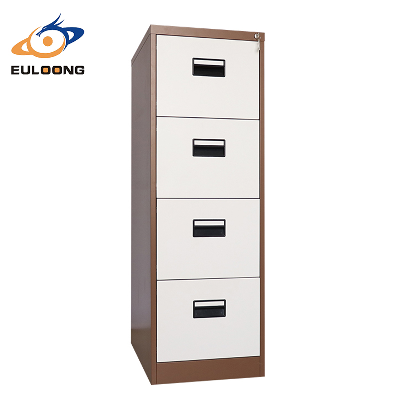 Modern Office Steel Furniture 4 Drawer Metal Vertical Drawing Storage <strong>Cabinet</strong>
