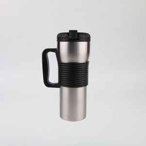 450ml Wholesale Leakproof stainless steel vacuum insulated thermocup car holder drink travel mug with handle
