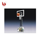 Plastic basketball crystal trophy award With A plastic basketball JC180