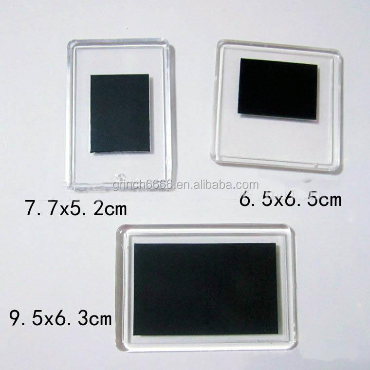 Oem Odm Acrylic Photo Frame Fridge Magnet,Rectangle Shape Blank ...