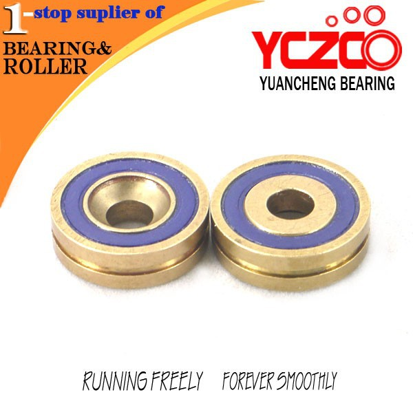 waterproof single groove double seal bearing for machine parts bearing