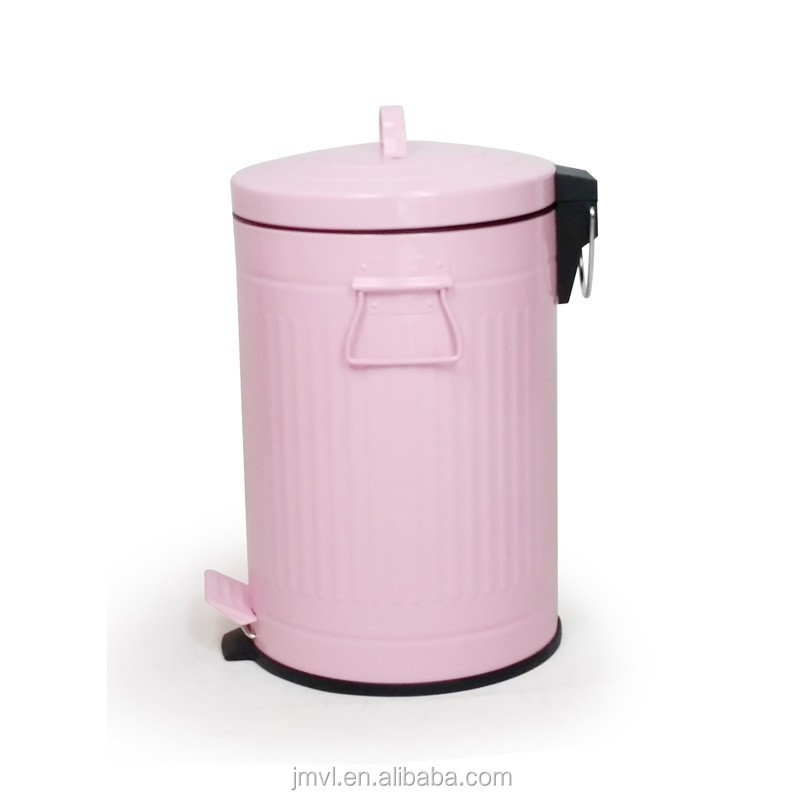2017Hot selling 30L pink large garbage bins for sale