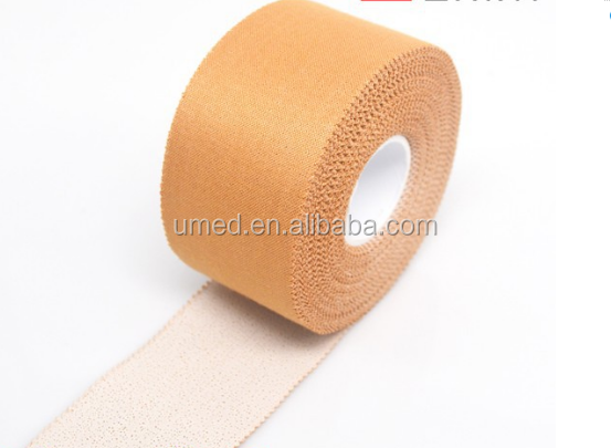 Zinc Oxide Adhesive Tape For Surgical & Sports/Medical Adhesive Zinc Oxide Plaster/Zinc Oxide Sports Tape 1.25cm x 5y/m