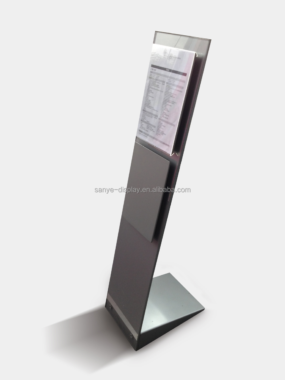 Auto show shelf foldable display stand metal shelf buy for Stand auto