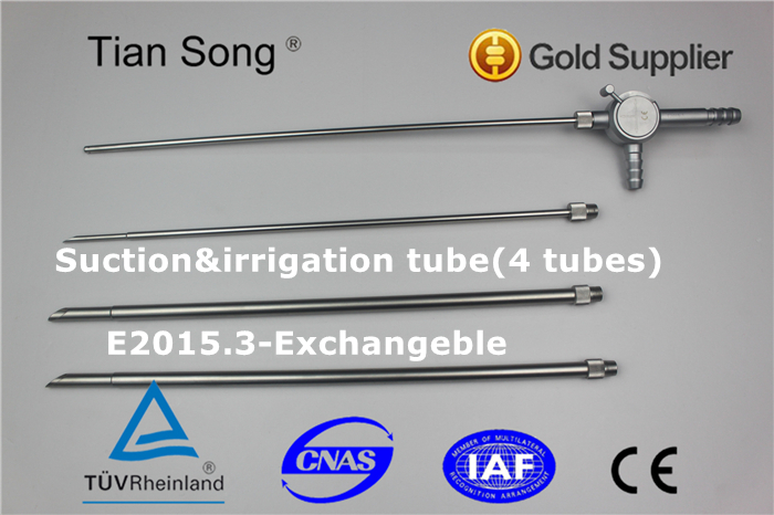 laparoscopy Surgical Instruments Suction&irrigation tube(2 tubes)