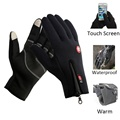 Screen Touch Windproof and Waterproof Warm Outdoor Sports Gloves guantes Full Finger Cycling Glove luvas for