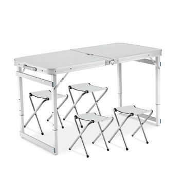 Avec Pour Camping on Buy L'extérieur Chaises Avec En Table Pliante 4 Pliante 4 Table Chaises Product Aluminium uFcKlTJ135
