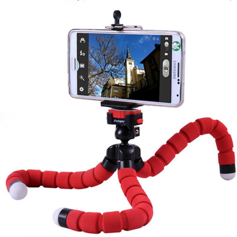Super Cool Octopus Flexible Tripod For Digital Camera
