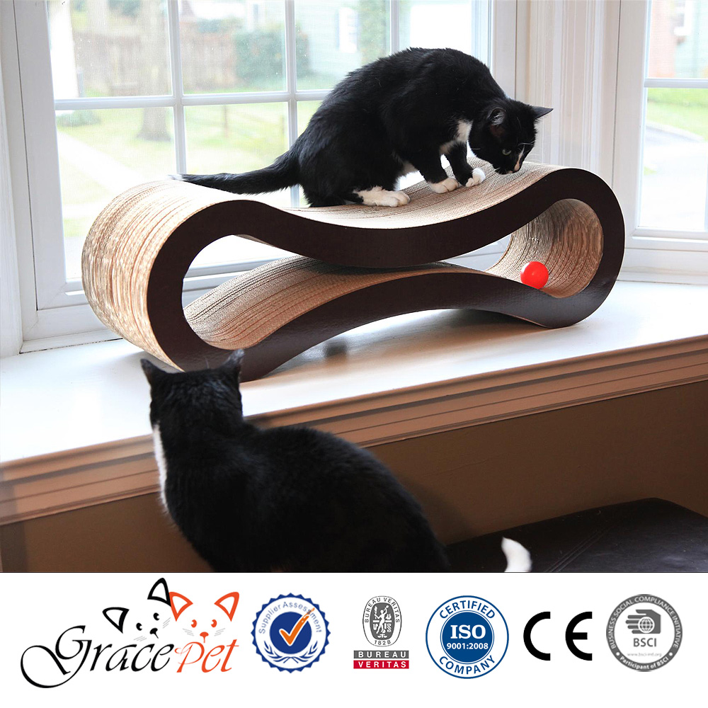 New style cat scratching pad for multiple cats