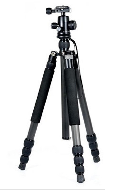 Q13722 Sinno Y-3425Z Профессиональный Углеродного Волокна Штатив Комплект с Мяч Головой Максимальная Нагрузка 13 кг SLR DSLR Камеры Видеокамеры + FS
