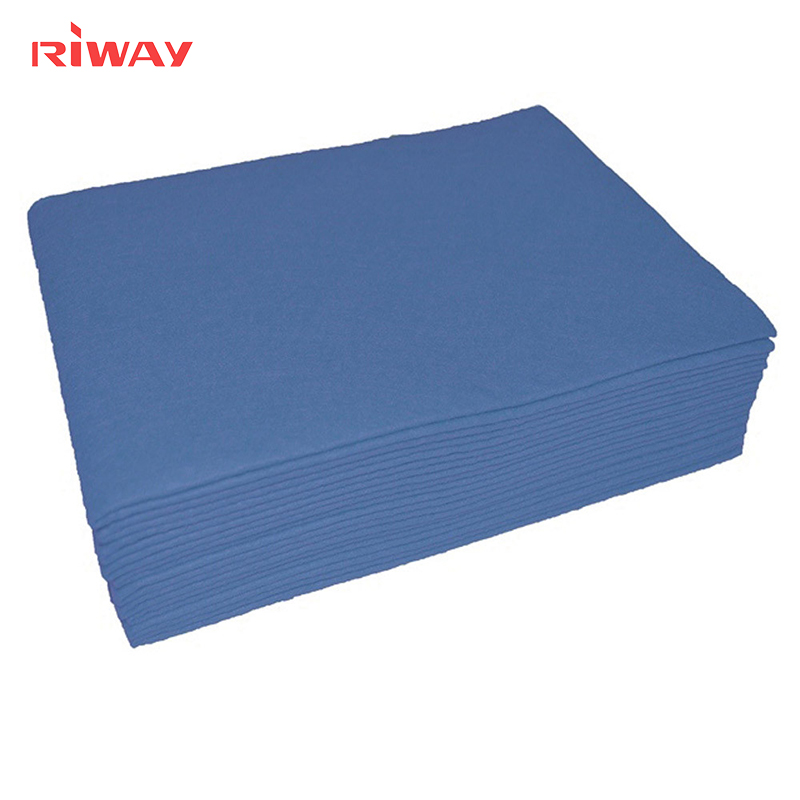 industrial nonwoven Woodpulp perforated cleaning cloth