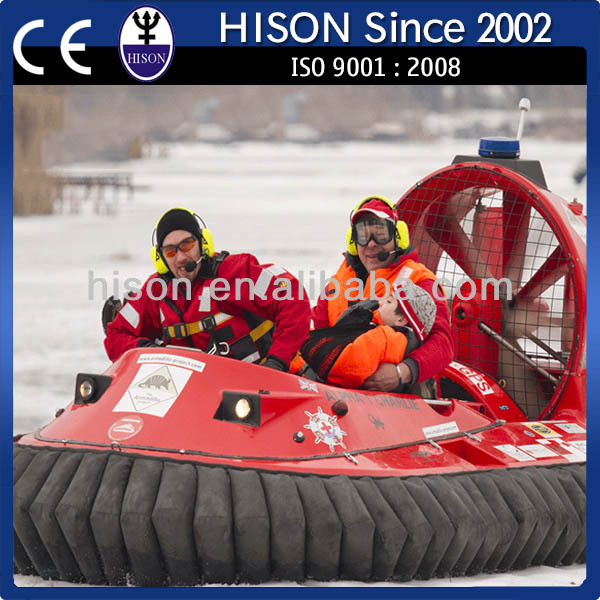 China leading PWC brand Hison chinese water hovercraft tank