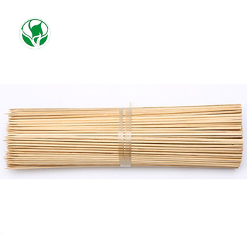 Wholesale round wooden bamboo fruit twist and burger pick skewer for party use