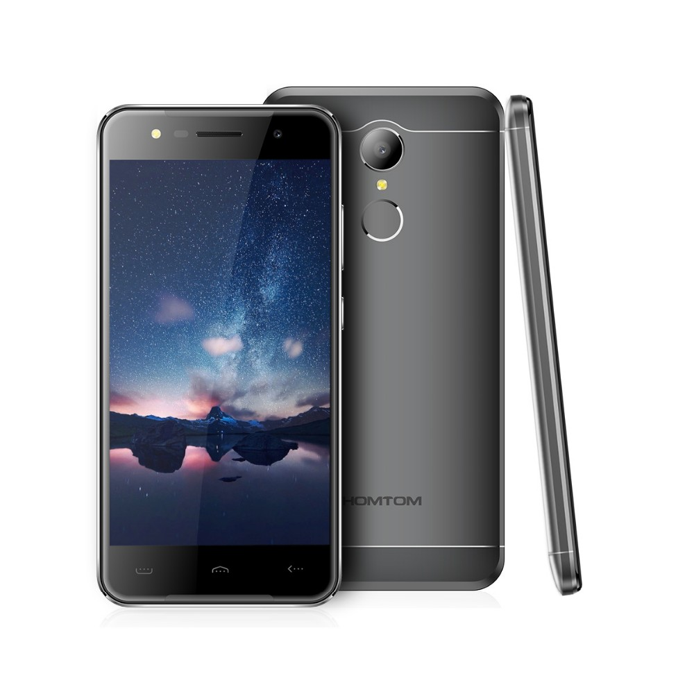 Homtom ht37 3G mobile phone android 6.0 mtk6580 quad core Smartphone
