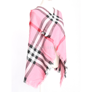 custom high quality soft textile wholesale blanket scarf shawl