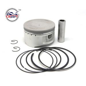 80MM 18MM Piston Ring Kit for VOG LINHAI YP VOG 400cc Tank Touring JCL Feishen Gsmoon ATV Buggy Scooter Parts