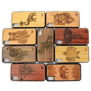 Rosewood Wood Smart Phone Case Wooden Cell Phone Cover for iPhone 7 Mobile Phone Accessories
