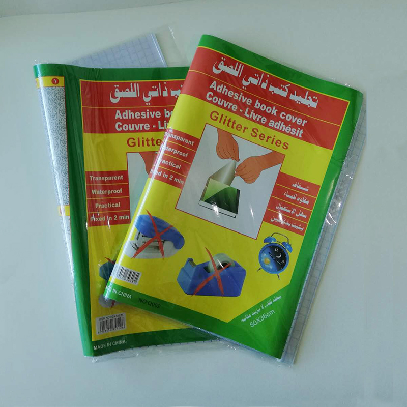 도매 중국 자기 접착 포장지 투명 책 커버